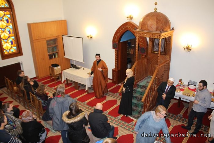 Mufti of Lithuania meets guests