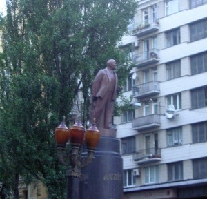 Kiev Lenin statue