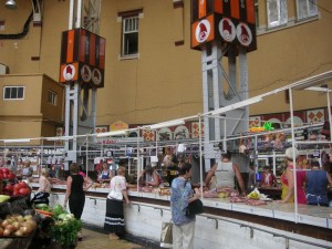 Kiev meat market